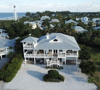 Steps from the beach.  Private access.  Gulf and Lighthouse views.