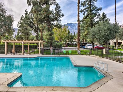 Photo for Resort Apt in Heart of Palm Springs w/Pools+Tennis