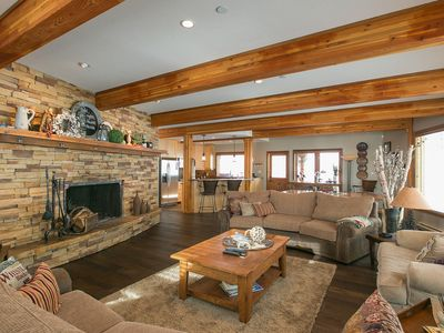 Photo for Executive Chalet, 4222 Sqft, Ski In/Out 5 Bed Rm