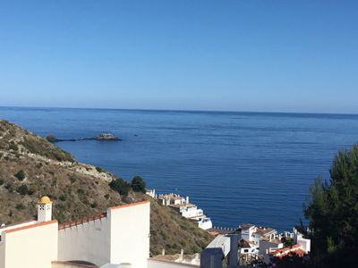 Photo for Almuñecar sea view house 6 people, pool, 3 bedrooms, 2 bathrooms,