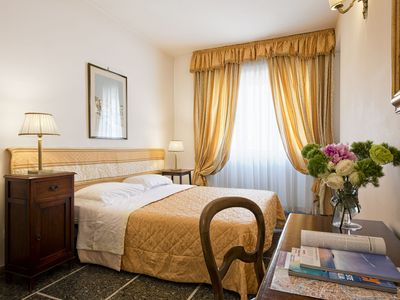 Photo for Rome city center a few steps from the Vatican Museums * B & B Le Sibille Orange Room