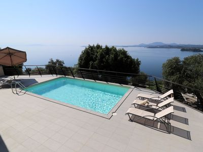 Photo for ★ Villa Faiax - private pool with stunning Ipsos bay views ★