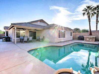 Photo for Phoenix Area Home w/Private Pool Near Golf&Hiking