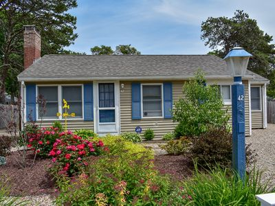 Photo for Glen 42- Cute cottage with ac.  .3 miles to sandy and flat beach