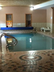 Photo for Beautiful apartment and balconies on the slopes! Swimming pool, sauna, hammam and fitness