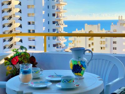 Photo for SEA VIEW, WITH AIR CONDITIONING AND PRIVATE PARKING