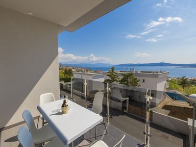 Photo for Holiday apartment with dreamlike sea view