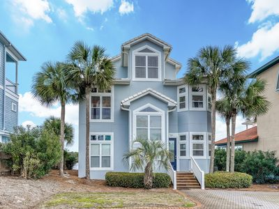 """Photo for """"Get To The Point"""" 30A Lakefront Rental w/ Gulf & Lake Views + Pool + Sailboat!"""