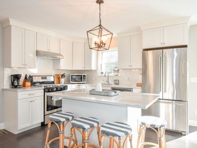Photo for #622: Private, Newly Renovated, Modern, Deeded Pond Access, Walk to Main Street!
