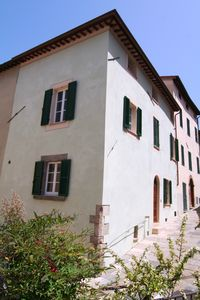 Photo for House in the old town in Cetona, three floors, with paintings and original beams. WiFi