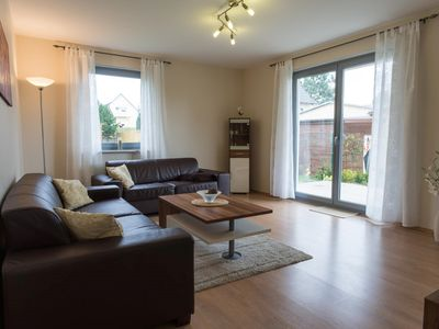 Photo for Beautiful, bright apartment with terrace & garden, free Wi-Fi