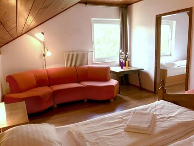 Photo for Family room No. 9, shower, toilet, 2 bedrooms - Pension Sonntagshof