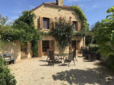 Photo for Character barn conversion in tranquil location near medieval Dordogne village