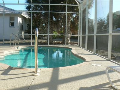 Photo for Walk to South Beach - House with Heated Pool