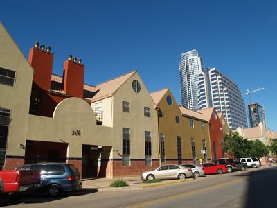 Downtown Austin Condo Surrounded by Highrises