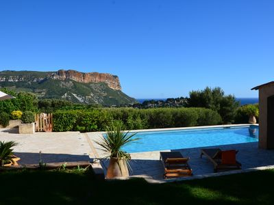 Photo for Outstanding rental property with pool for 8 persons i cassis france