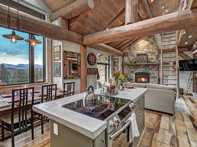 Photo for Mountain Cabin, great view, stream, drive to Denver or Boulder or Nederland