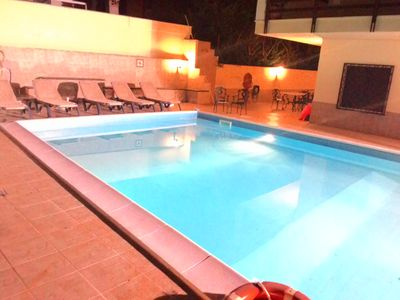 Photo 3:  private pool for the exclusive use of the tenant)