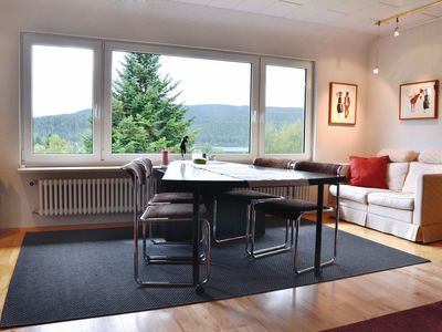 Photo for Very nice, large (102sqm) and central apartment with lake view in Schluchsee