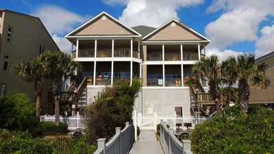 Photo for Massive Oceanfront Beach House Great for Reunions & Golfers!