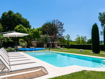 Photo for Countryside Villa in Sant'Ippolito with Swimming Pool