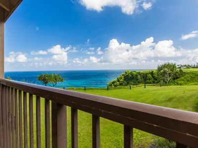 Photo for Located on an ocean bluff with an awe-inspiring blue-water view