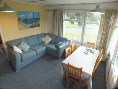 Photo for Chalet Cwtch, a cosy 5 bed holiday cottage in Roch, Pembrokeshire