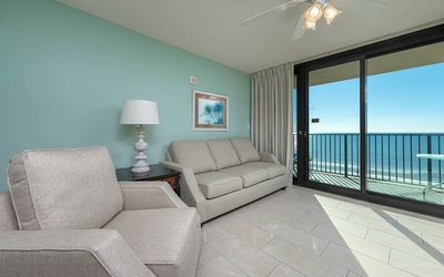 Photo for Hotel Suite ~ BEACH FRONT ~ Just like a Condo! ~ Kitchen and Living Room!