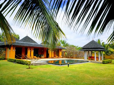 Photo for Tamarin: Luxury villa for golf anf nature lovers