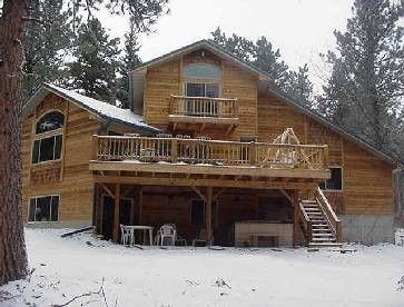 Photo for Beautiful Cabin at Terry Peak- Hot Tub, Sauna- Lots of Wildlife Abound!