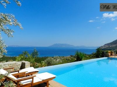 Photo for Villa Epidavros Land with private swimming pool,garden,bbq and amazing view