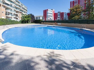 Photo for CISNE - Apartment with shared pool in Playa de Gandia.