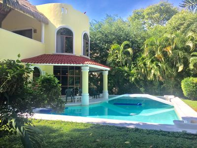 Photo for 4 Bedroom Villa W/Large Private Pool on Golf Course