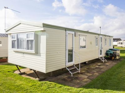 Photo for 8 berth caravan for hire at Hopton Haven holiday park ref 80026F