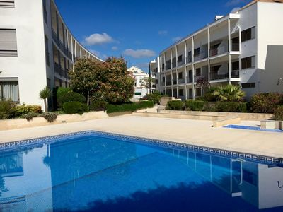 Photo for Stylish two-bedroom apartment in Tavira centre with swimming pool