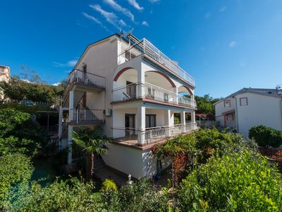 Photo for Holiday apartment with two terraces and sea views