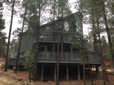 Photo for Family friendly House, with beautiful views, sleeps 8-Near Flagstaff