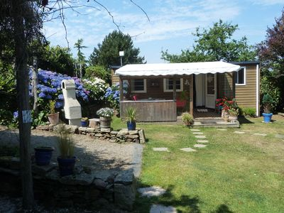 Photo for Cancale rent cozy bungalow in flowery