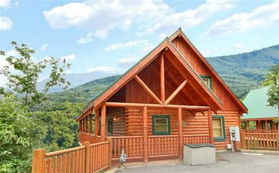 Photo for .:*~*:. Dancing Bear Lodge | Stunning Mountain Views | Pool Table | Hot Tub | Pigeon Forge | Wifi