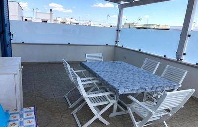 Photo for Holiday Apartment Torre San Giovanni 27 with Air Conditioning & Terrace; Street Parking Available