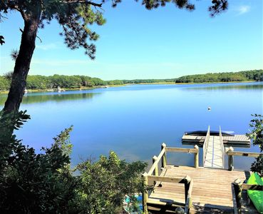 Photo for New Seabury Home with Private Dock close to Beach, Golf Tennis, BOAT OPTIONAL