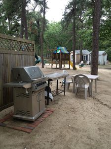 non movable gas grills and moveable charcoal grills for your use