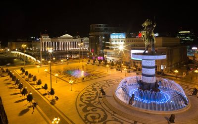 Photo for Cozy place, enjoy Skopje by day and night.