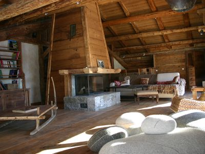 Photo for South facing cottage in Grand Bornand combining charm and comfort