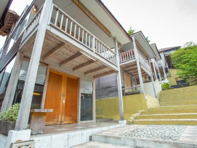 Photo for Catchy House in Nusa Dua, Wooden Style, Great Location