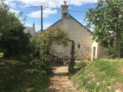 Photo for Relaxing 4-6 Person Gite with Pool in Rural Loire, France