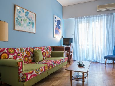 Photo for Vintage Athens Apartment by Cloudkeys