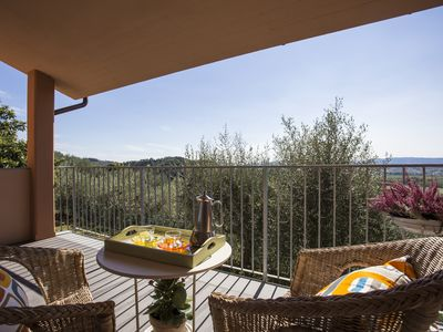 Photo for NESPOLO cottage, on the Tuscan hills between Pisa and Florence, ideal for 5/6 p