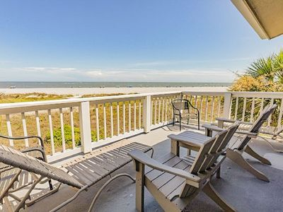 Photo for 3BR Oceanfront Oasis - Beach Club Villa 72
