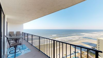 Photo for Updated 2 Bedrooms 2 Bathrooms endless Ocean and River Views, Daytona Beach Shores/ Sleeps 8